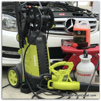 car detailing pressure washer
