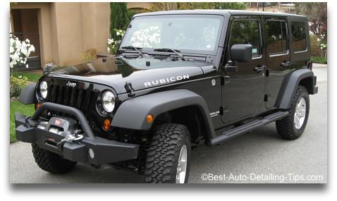 Jeep rubicon detail