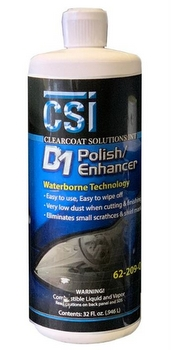 CSI d1 car polish enhancer