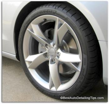 alloy wheel of Audi