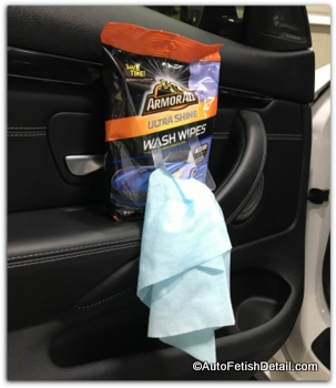 armorall wipes to clean car interior
