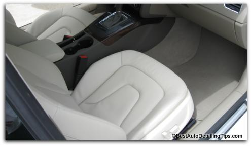 audi diy car upholstery cleaning
