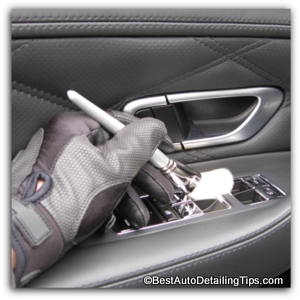 auto detailing dusting brushes
