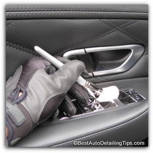 auto detailing dusting brushes