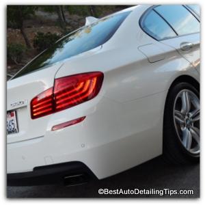 bmw car wax polish