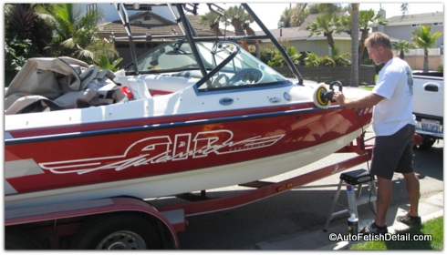 The Best Boat Wax may not be a wax at all!