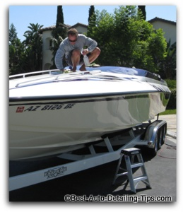 boat waxing tips