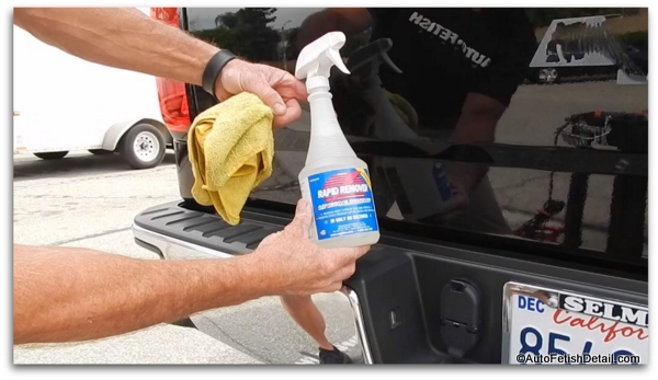 car adhesive remover