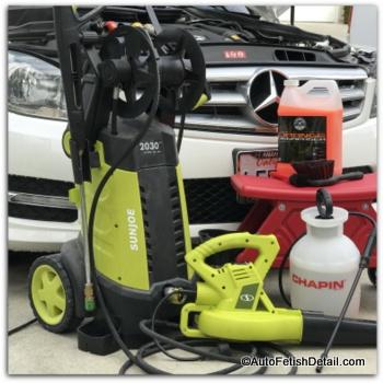 car detailing pressure washer
