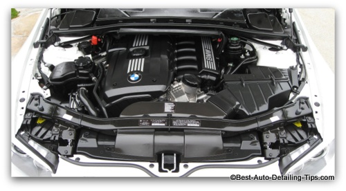 car engine cleaning  simple  safe