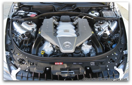 car engine picture mercedes cl63 amg