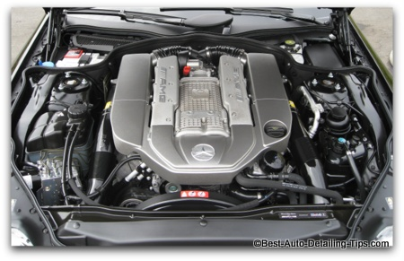 car engine picture mercedes e63 amg