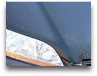 car paint chips
