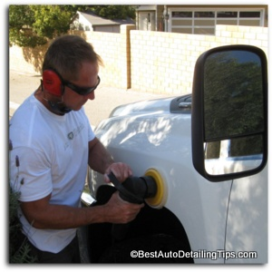car polishing as a beginner