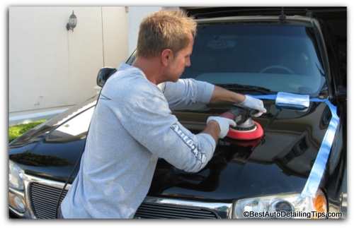 car polishing flex car buffer