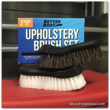 car upholstery cleaning brushes