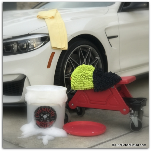 car wash kit for new car paint