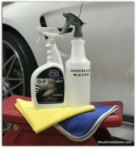 car window cleaning secret