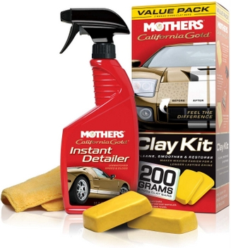 clay bar a car mothers claybar kit