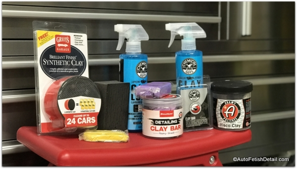 clay bar kits for clay bar process