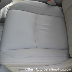 For truly clean leather car seats, learn what the professional uses!
