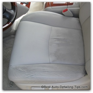 how to clean leather seats in your car