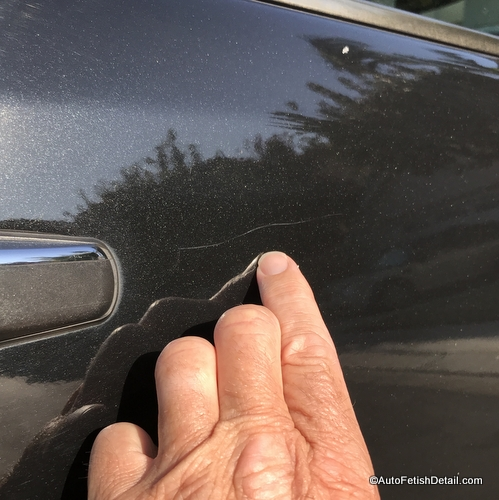 clear coat scratch damage