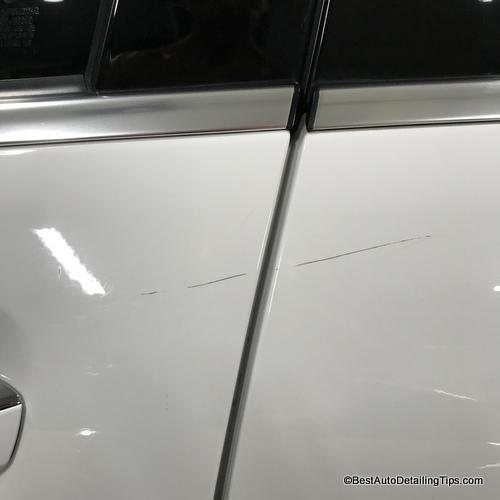 clear coat scratch repair for scratch in clear coat