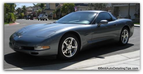 corvette used car selling tips
