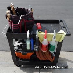 detailing cart