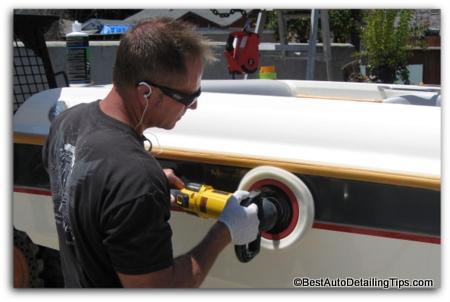 dewalt car wax polishing