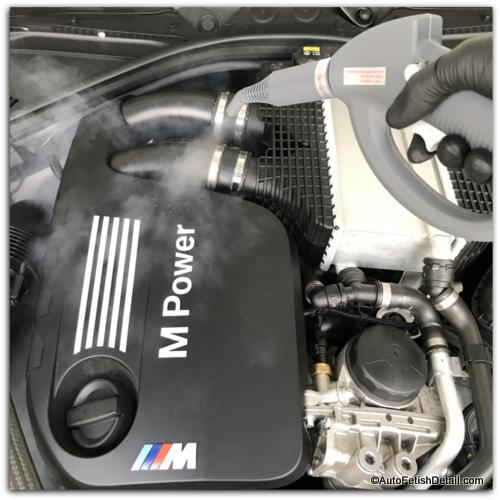 engine steam cleaner