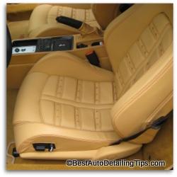 ferrari car leather cleaning