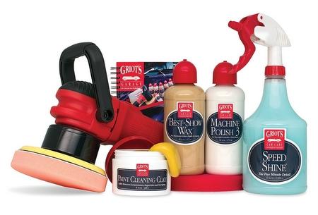 griots garage car polishing kit