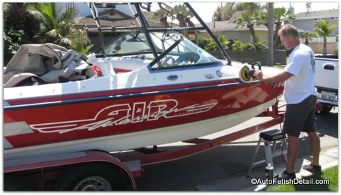 high speed dewalt boat polisher