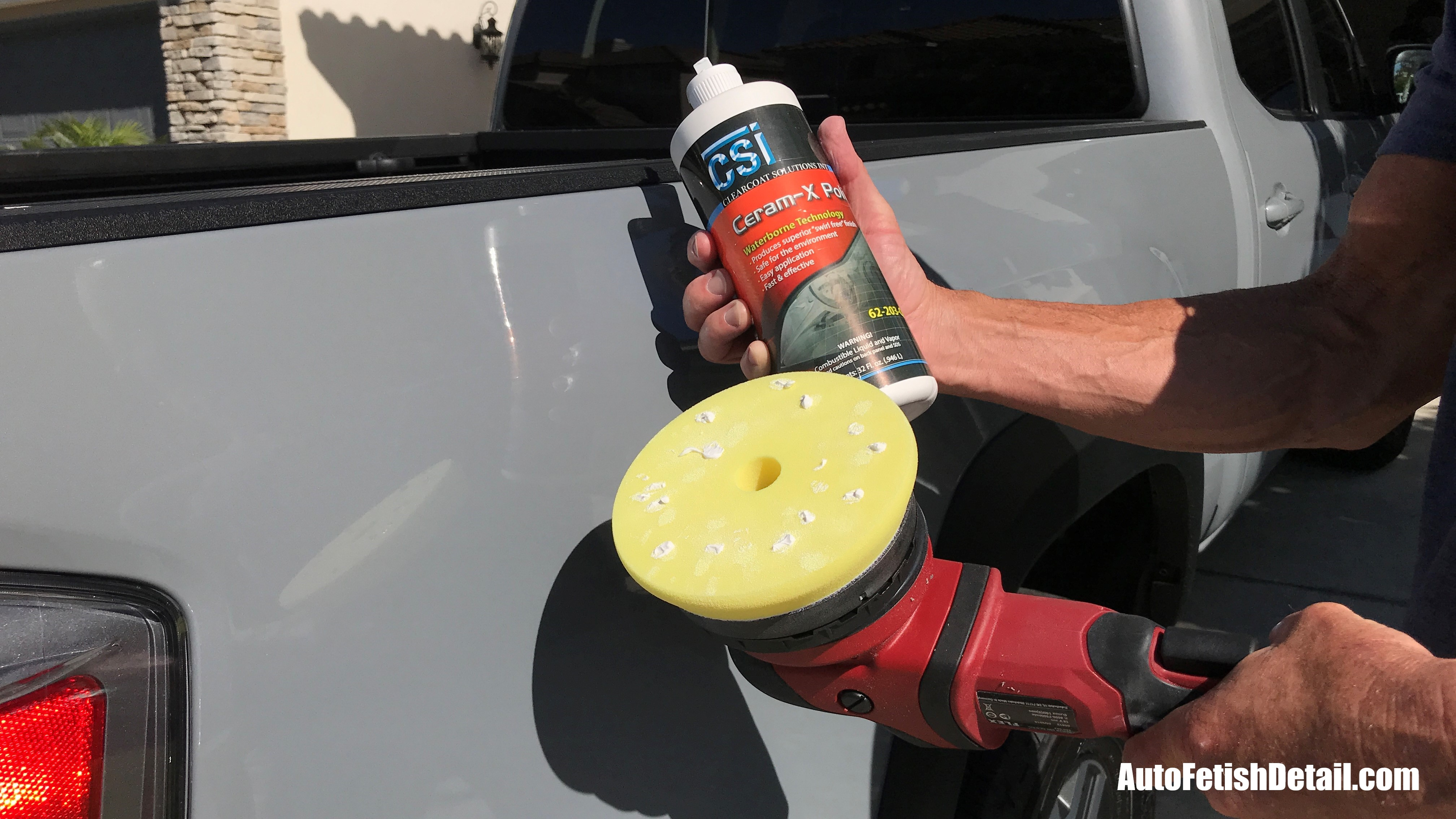 how to buff clear coat