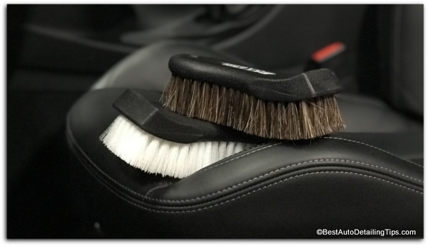 how to clean leather car