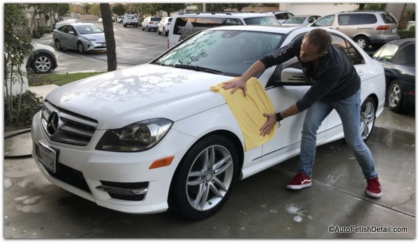 how to dry a car using water magnet