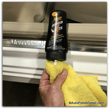 how to use meguiars scratch x 20