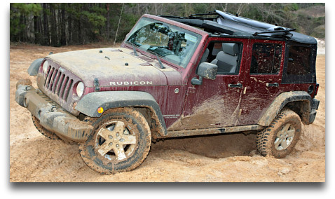how to wash a jeep