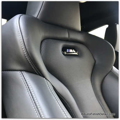 leather car seat cleaning bmw m4