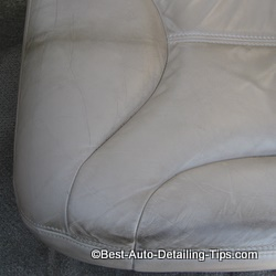 sheepskin seat cover damage