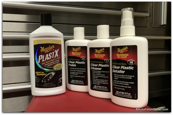 meguiars mirror glaze plastic cleaners and polishes