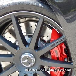 mercedes s63 amg wheel