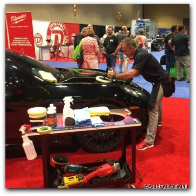Milwaukee cordless rotary car polisher