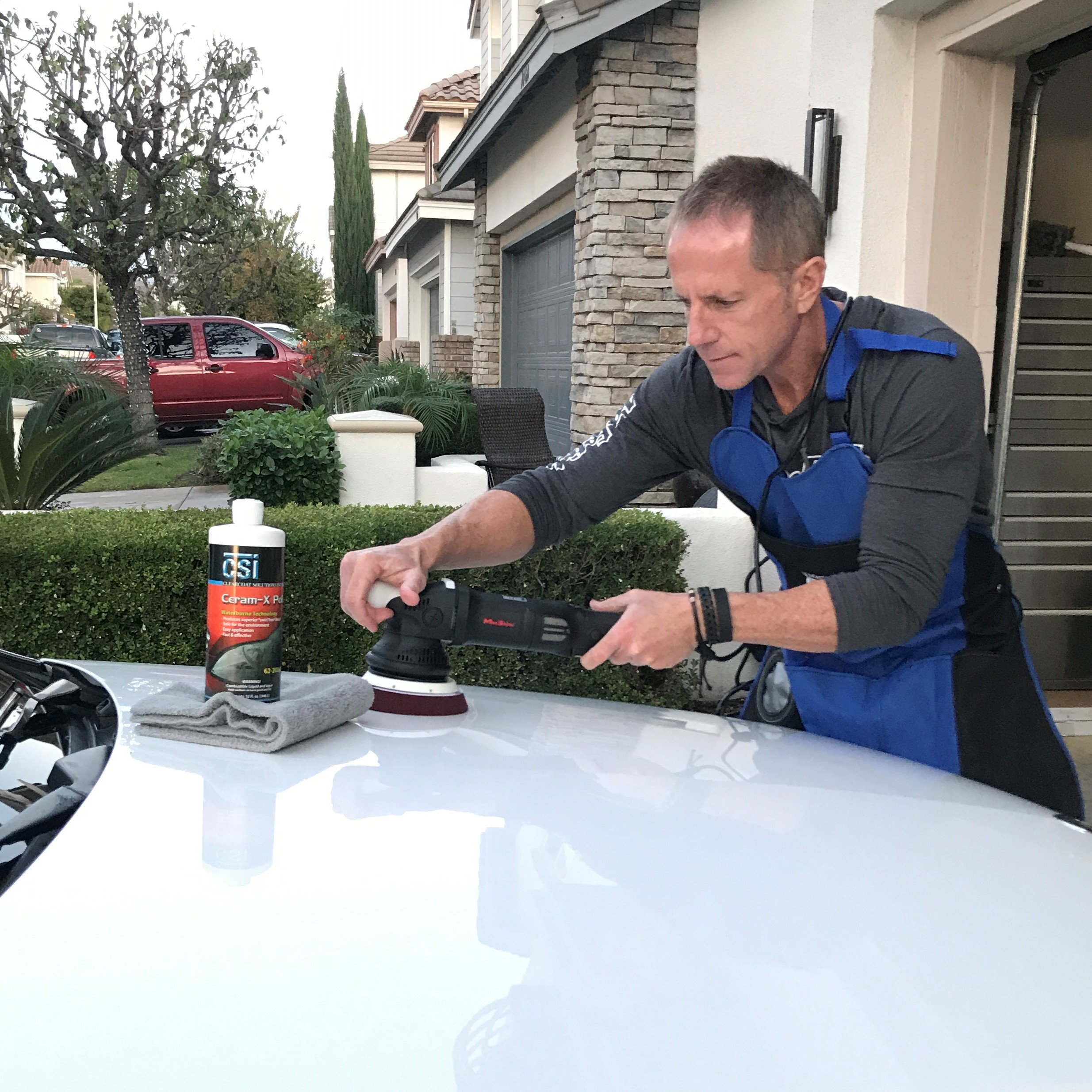 polish a car ceramx car polish