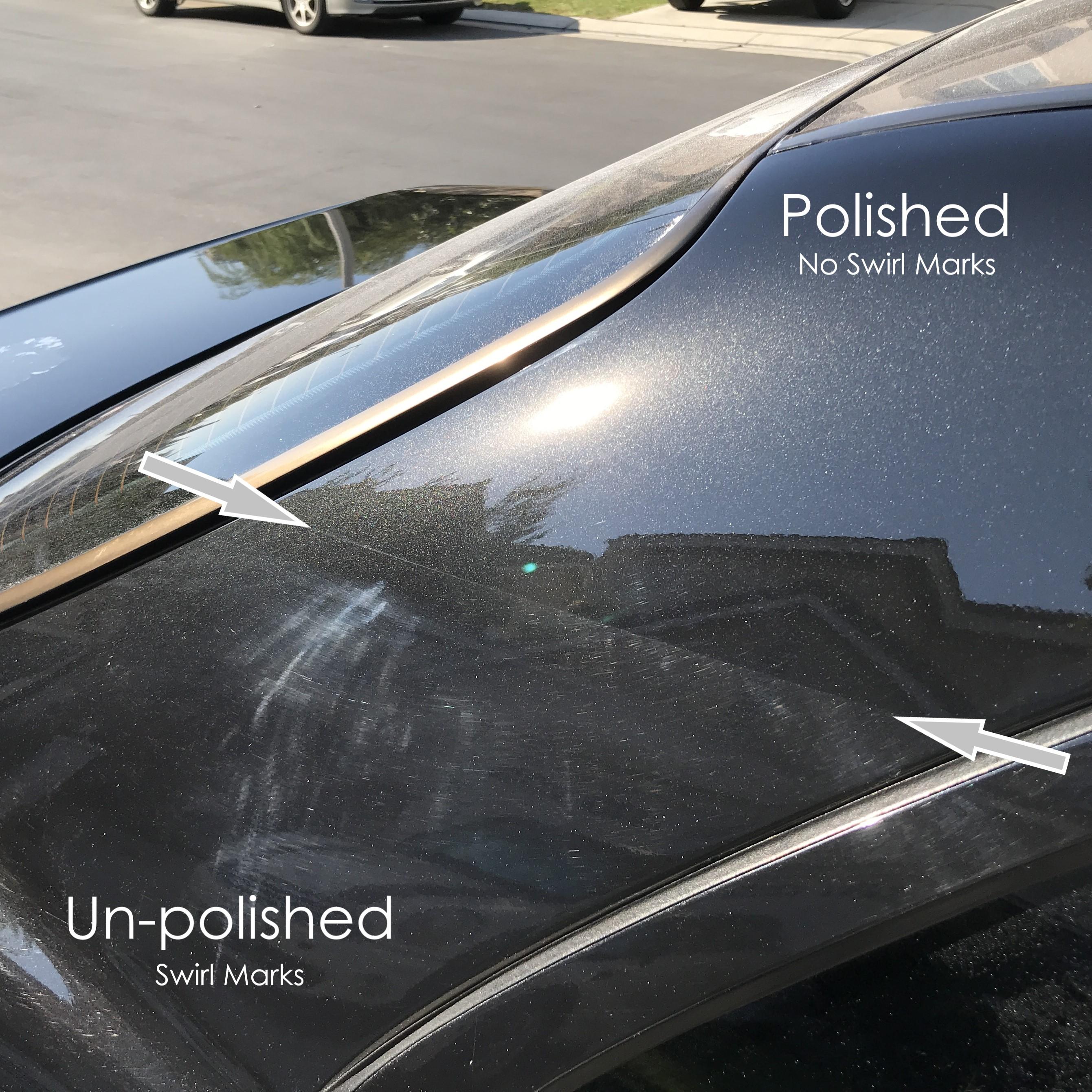 polish to remove swirl marks