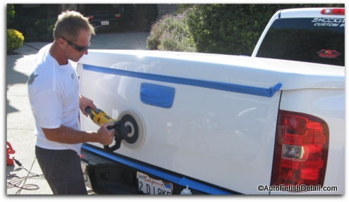 polishing using high speed buffer