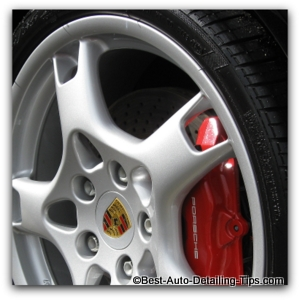 porsche wheel cleaner