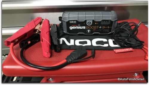 portable battery jump starter